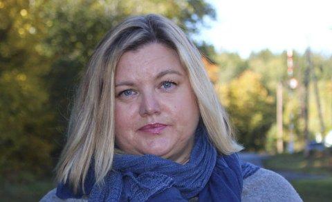 SIER NEI: Merete Sjølie Pedersen er leder i Heistad Arbeiderlag.