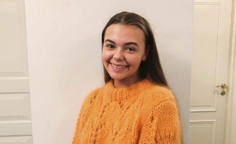 TAR ANSVAR: Martha Utengen og innsamlingsgruppa tar ansvar for å gjennomføre Krafttak mot kreftaksjon på Porsgrunn videregående skole.