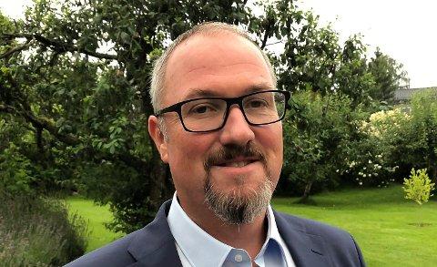 TYDELIG: Geir Mjøen i Porsgrunn Venstre.