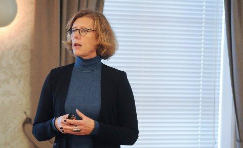 LEDER: Nyheten kom brått på ViG-sjef Hanne Gro Haugland.