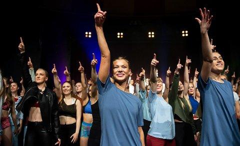 Christel Nilsen startet karrieren ved Tip Toe Dansestudio. Nå er hun klar for nye utfordringer.