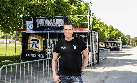 Morten Eriksen er hovedansvarlig for terrenghinderløpet Villmann. Løpet har start og målgang utenfor Stadion treningssenter.