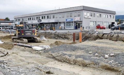 HØYE VERDIER: Prøvesvarene ved Hønengata 71 viste høye verdier av Benzen.