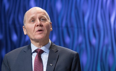 FÆRRE KUNDER: Telenors konsernsjef Sigve Brekke Foto: (NTB scanpix)