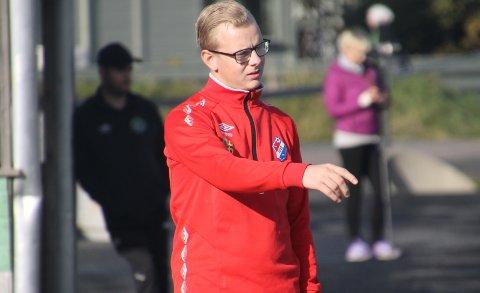 UNG HOVEDTRENER: Ørjan Heiberg trente Fu/Vos rekruttlag fra 6. til 4. divisjon før han overtok som A-lagstrener da han var 23 år gammel.