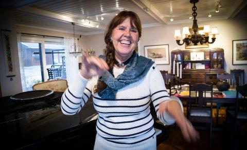 DIRIGENTEN: I hele sitt liv har Inger-Marie Wattum Kolbergsrud levd med og for musikk. I tidlige år danset hun også ballett, men valgte det bort. – Musikk kunne jeg holde på med hele livet, sier hun.