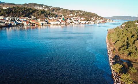 UTSLIPP: Det var dieselutslipp i Drammensfjorden sist uke, og da var Asker kommune i beredskap.