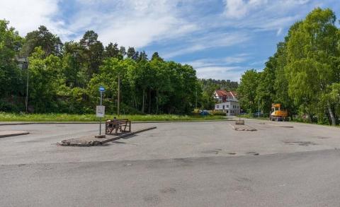HER? Kommunedirektøren foreslo Øra som areal for ny skole. Politikerne sa nei.