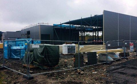 NYBYGG: Det nye kontor- og lagerbygget til Fon Anlegg AS i Nordre Fokserød 24 vil koste 40 millioner kroner.