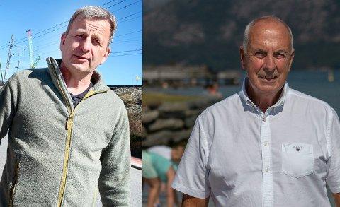 ENIGE: Bjørn Bråtveit og Stanley Wirak sørger for at folk ikke skal oppleve trafikkbøter mens de er på tur. Geir I. Øglend hjelper også.