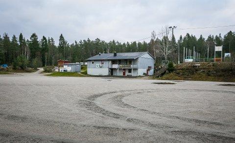 GROVT TYVERI: Natt til lørdag har uvedkommende på besøk på klubbhuset til Ise Sportsklubb..