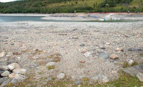 Det varme sommerværet førte til nok en nedgang i fyllingsgraden i norske vannmagasiner i forrige uke. Det gir høyere priser for folk flest.
