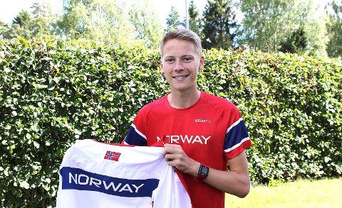 PRIS: Fredrik Sandvik (20) har gjort det skart på friidrettsbanen de siste årene og blir søndag tildelt Ungdommens kulturpris.