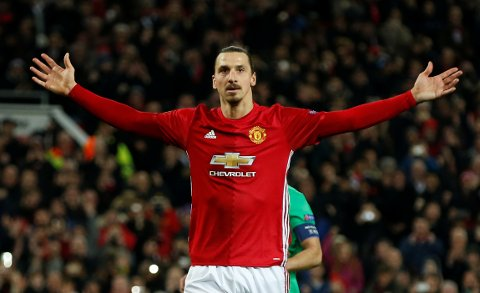 Game over for Zlatan i Manchester United.