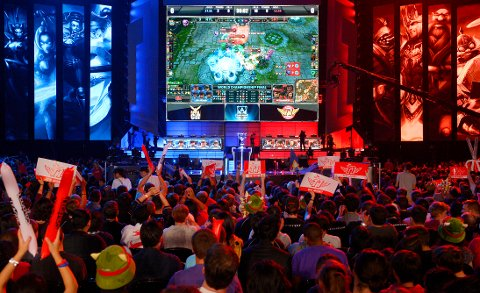 Her konkurreres det i League of Legends, som er ett av de tre spillene dere kan se hos oss denne helgen.