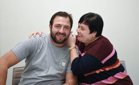 Raffaele og Marit kan feire 10 år som ektepar.