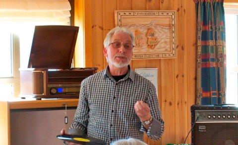 2020: Toralf Baldersheim får kulturprisen i Øystre Slidre for 2020.