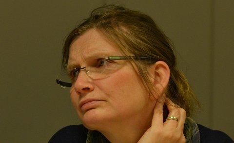 ØKENDEMEDLEMSMASSE:Leder Kari Anne Karlsen i Nittedal KrF er fornøyd med å kunne registrere en positiv Hareide-effekt.