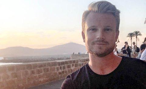 UNG LEDER: Zebastian Fjellbo Filling sitter i dag med ansvaret for Meltwater Groups virksomhet i Norge og Danmark.