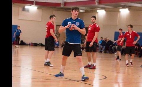 Sebastian Wheeler har tatt steget inn i landslagsmiljøet i håndball i USA.