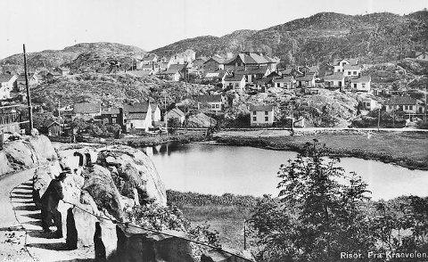Slik så Tjenna ut i 1910.