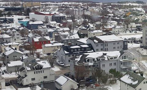 I Bodø og Fauske ender mars måned med en prisstigning 2,1 prosent.