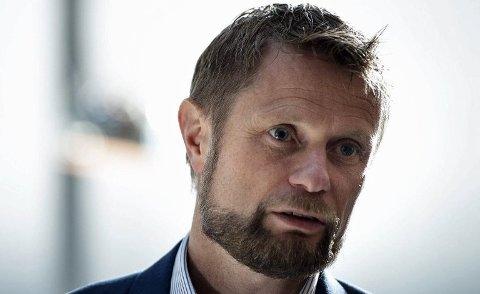 BA OM LOVLIGHETSSJEKK: Helseminister Bent Høie.