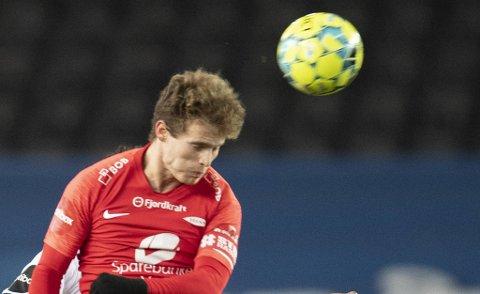 Ole Didrik Blomberg var som vanlig god offensivt og mer ruskete defensivt da Brann tapte i Bodø søndag.