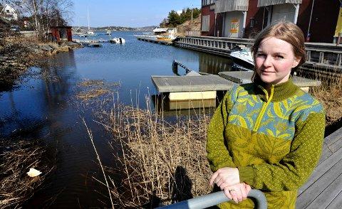 Småbåthavn: Lokalpolitiker Mona Vauger  tror ikke den omstridte båthavnen i Ødegårdskilen  kan realiseres.