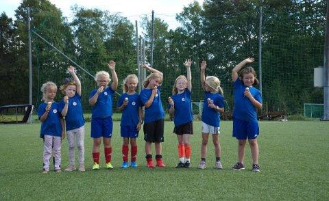 POPULÆRT: Jenter og fotball har blitt svært så populær kombinasjon i ÅIF.