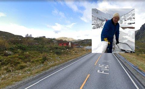 Jostein Løland er en av flere hytteeiere i Hunnedalen som er lei av biler kjørende forbi i høy hastighet. Han håper politikerne og administrasjonen i Gjesdal kan hjelpe og få ned fartsgrensa til 60 kilometer i timen.