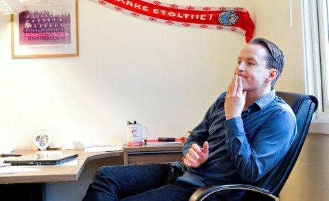 INGEN PERMITTERINGER: KIL-sjef Espen Nystuen kan fortelle at klubben ikke har tenkt til å permittere ansatte med det første.