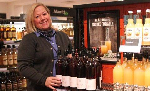 Butikksjef for polutsalgene i Kongsvinger og på Flisa, Monica Sørpebøl, har mer enn nok å gjøre om dagen.