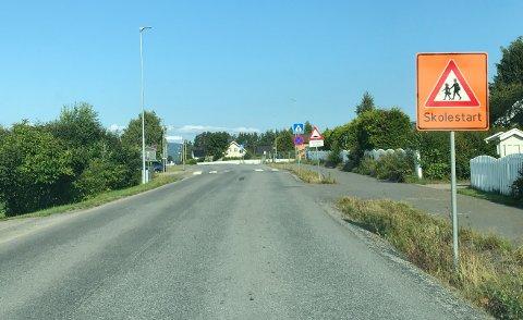 NESTEN IKKE: Det ble nesten ikke skolestart-skilt ved skolene i tidligere Hedmark. Men nå har fylkeskommunen fått beskjed at Statens vegvesen snur, og tillater skilt til årets skolestart. – Et viktig trafikksikkerhetstiltak, sier regionleder Mittet Solbraa i Trygg Trafikk.