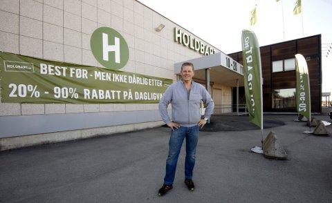Lillehamringen Thor Johansen ville egentlig til Lillehammer, men åpner nå butikk på Hamar.