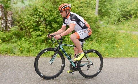 GODT TRENT: Når Sigbjørn Botten fra Hadeland Cykleklubb starter i Trondheim lørdag morgen, vet 48-åringen at han har et treningsgrunnlag på mer enn 250 mil.