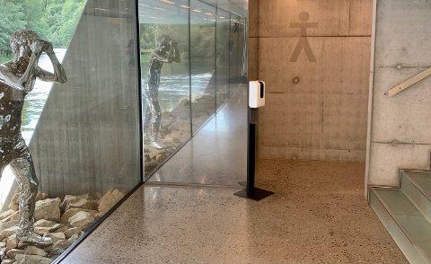 DYRT: Frozen River ble et sjeldent fint toalettanlegg, men det ble også mye dyrere enn museet hadde sett for seg.