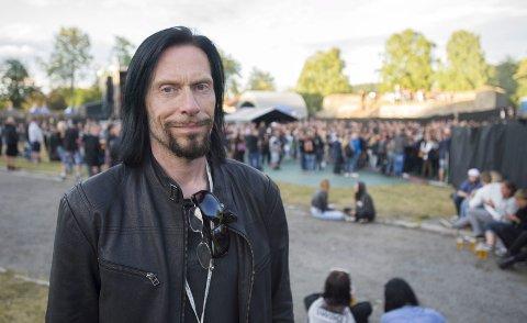 NORWEGIAN WOOD:  Svein Bjørge er festivalsjef for Tons of Rock. Nå tar han også over Norwegian Wood som går av stabelen i Frognerbadet i juni.