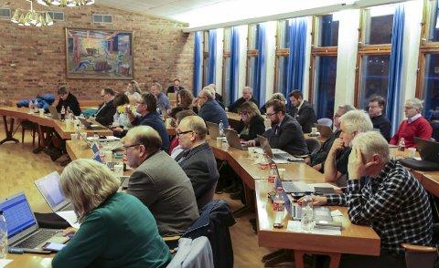 Eigne rutinar: Rutinar for eigne møter, var blant sakene kommunestyret i Ullensvang diskuterte førre veke. Foto: Sondre Lingås Haukedal