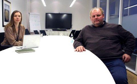STEVNET: Advokat Josefine Wærstad i Yrkestrafikkforbundet og bussjåfør Jan Kåre Christensen har stevnet Unibuss for Oslo tingrett etter oppsigelsen.
