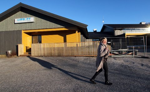 Daglig leder Nina Rødahl Friis oppgraderer Havblikk Camping på Nesna.