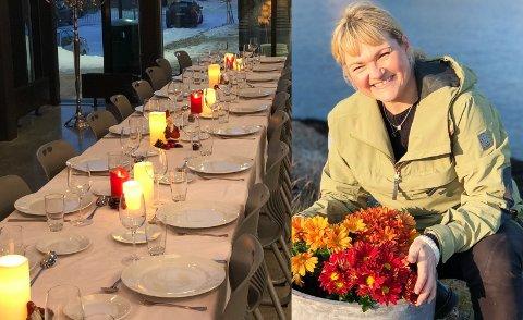 """ARRANGERER JULEFEIRING: Gry-Anita Kristiansen tilbyr et eget fellesskap til dem som ikke har andre steder å være på julaften i Vardø, og håper at """"Alternativ jul"""" kan bli en årlig tradisjon."""
