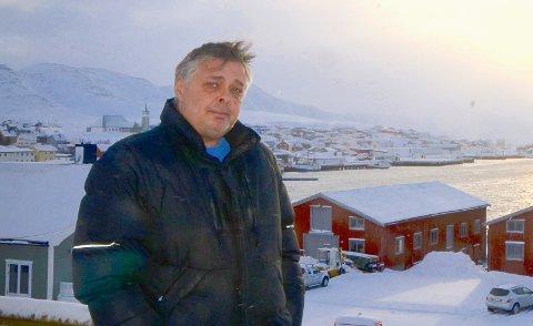 IKKE TAKK JA: Leder Inge Bjørn Hansen i Gamvik Ap vil ikke ha styremedlemmer i Finnmark Ap som er imot reversering. Om noe med slik mening er foreslått, ber Hansen dem takke nei.