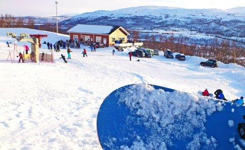 STENGT: Skaidi Alpin må holde stengt i påsken i tråd med retningslinjer fra myndighetene.