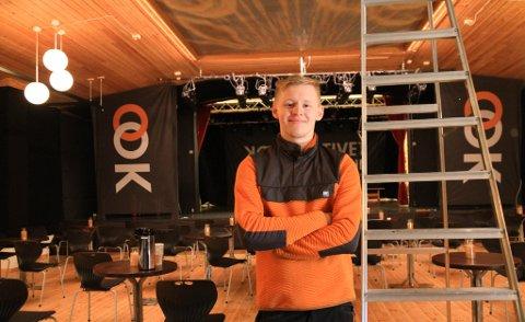 SKAL STREAME KONSERTENE: Karl-Magnus Malinen fra Kirkenes har ansvaret for at konsertene på årets Varangerfest skal  ut til folket.