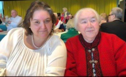MÅTTE KJJEMPE: Datteren Sissel Erlandsen måtte kjempe lenge før hennes 94 år gamle mor, Vera, fikk omsorgsplass.