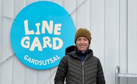 KREATIV: Selv om ikke alt gikk helt etter planen, har Heidi Line nå startet gardsutsalg.