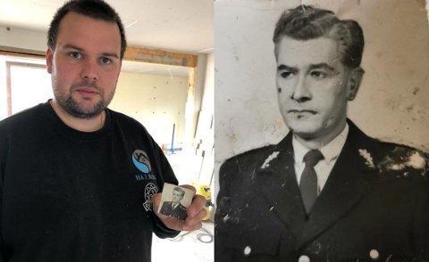 POLITIMESTER: Gunnar Haarstad var politimester i Sør-Varanger mellom 1958 og 1967. Nå er et bilde av han funnet i den tidligere politimesterboligen i Kirkenes.