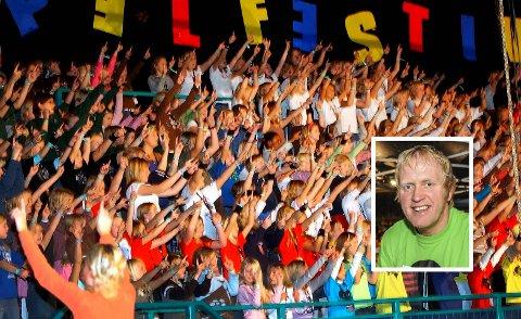 Avlyst: Barnegospelfestivalen i Kragerø er avlyst på grunn av koronasituasjonen. Jarle Storebø (innfelt) synes det er trist, en slik er situasjonen.