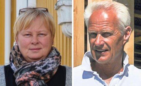 MØTTES I RETTEN: Kommunalsjef for samfunn Beathe With og Ole Christian Torgersen ved Verditakst AS.